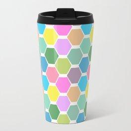 hexagon (4) Travel Mug