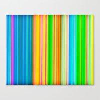 stripe Canvas Prints featuring stripe by AmeliaPeelArt