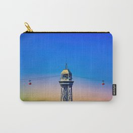 Port Cable Car in Barcelona Carry-All Pouch