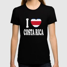 I Love Costa Rica T-shirt