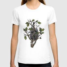 Oak Opossum by Boo Hag T-shirt