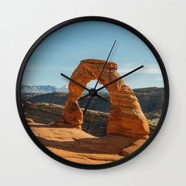 Delicate Arch, Arches NP // Utah Wall Clock