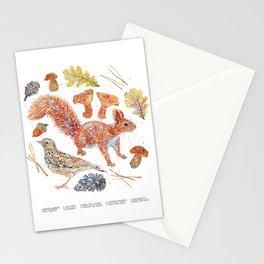 Winter Wildlife Stationery Cards