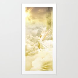 Angels Gate Art Print