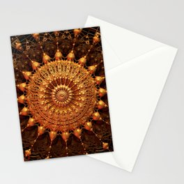 Sun Spur - Raw 3D Fractal Stationery Cards