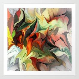 Abstract 040212 Art Print