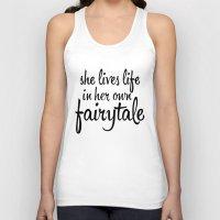 fairytale Tank Tops featuring FAIRYTALE by stephanie nichole