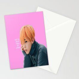 Bigbang MADE Let's Not Fall In Love G-Dragon Pink Stationery Cards