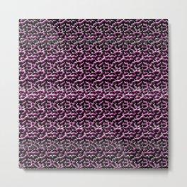 Pink Metal Metal Print