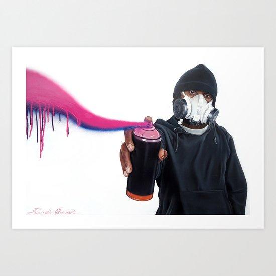 Graffiti Art Print