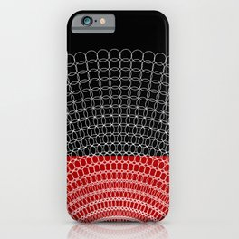 Geometric Rings iPhone Case