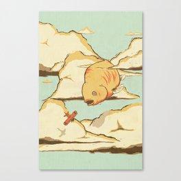 Sky Diving Canvas Print