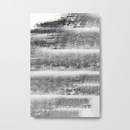 """Levels - Black and White"" Metal Print"