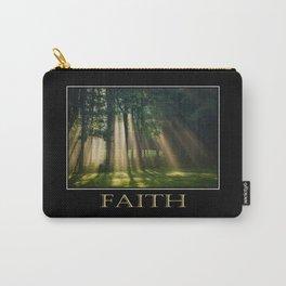 Inspirational Faith Carry-All Pouch