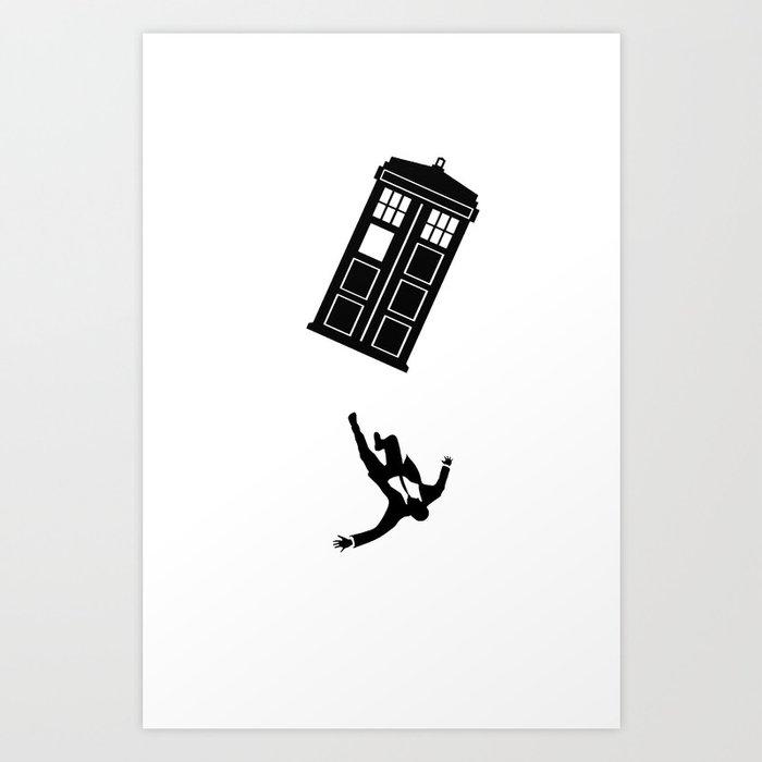 Doctor Who - Mad Men Art Print