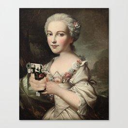 GIRLS WITH GUNS 5 Canvas Print