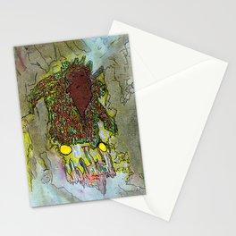 smudge sent Stationery Cards