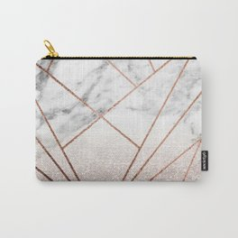 Rose glitter rising geo Carry-All Pouch
