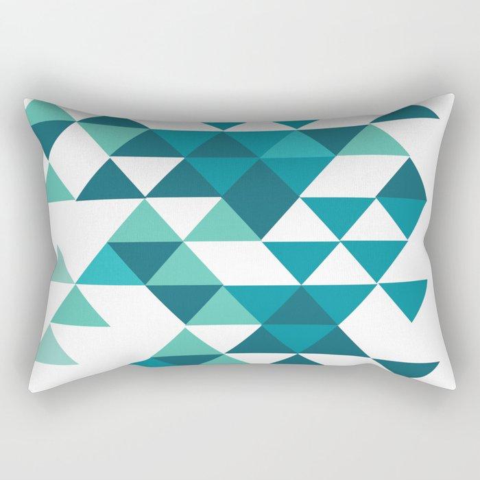 A Little Respect Rectangular Pillow