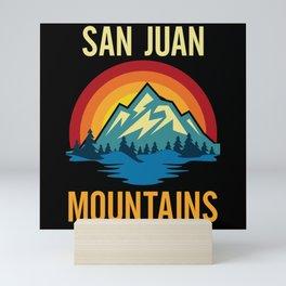 San Juan Mountains Sunset Mini Art Print