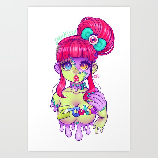 Z-Cutie Art Print