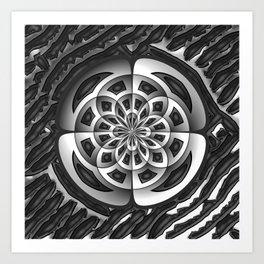 Metal object Art Print