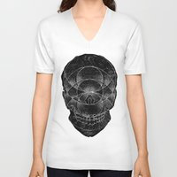 third eye V-neck T-shirts featuring Third Eye by Hawks & Hounds