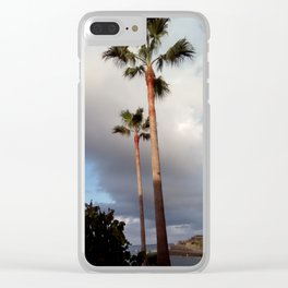 one view of Tenerife Clear iPhone Case