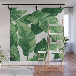 Tropical banana leaves IV Wall Mural