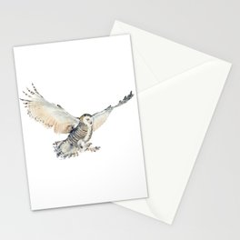 Arctic Snowy Owl Stationery Cards