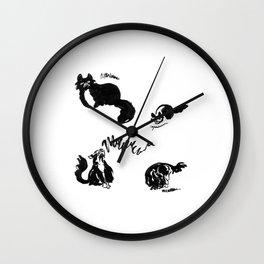 Clover Sounds | Lo-Fi Cat Frustration Wall Clock