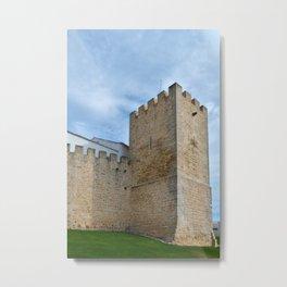 Medieval Castle Tower in Loule Metal Print