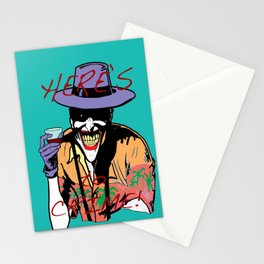 killing joker quote Stationery Cards