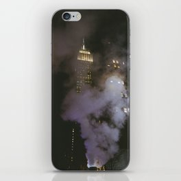 Empire State Building through the Steam iPhone Skin