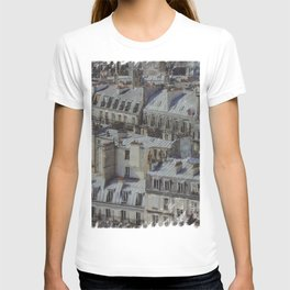 city roofs T-shirt