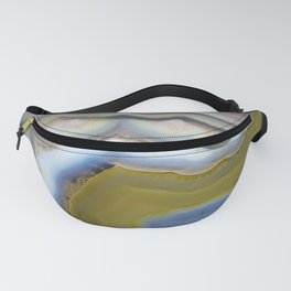Agate geode slice #2018 Fanny Pack