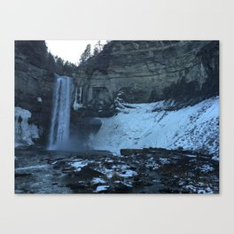 Ithica Gorges Taughannock Falls Canvas Print