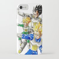 vegeta iPhone & iPod Cases featuring vegeta family tree by Unic art