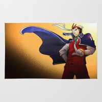 apollo Area & Throw Rugs featuring Apollo Justice by Witchy
