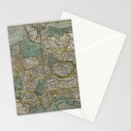 Vintage Map - Ortelius: Theatrum Orbis Terrarum (1606) - Germany & Central Europe Stationery Cards
