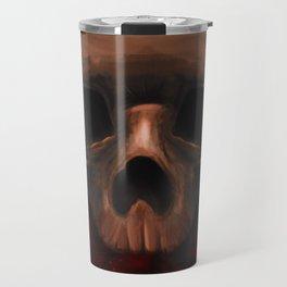 skull & roses Travel Mug