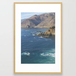 Bixby Bridge in Big Sur Framed Art Print