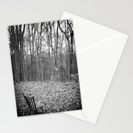 Sitting in Solitude Stationery Cards
