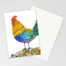 The Cockerel and The Jewel Stationery Cards
