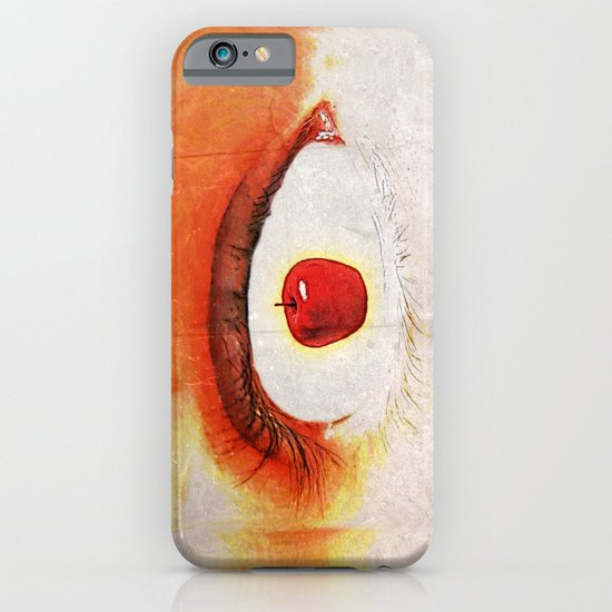Apple of My Eye 000 iPhone & iPod Case