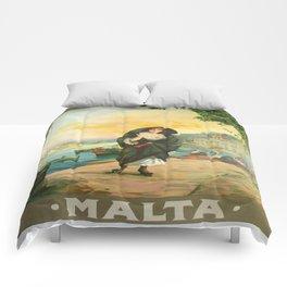 Vintage poster - Malta Comforters