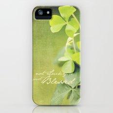 Blessed iPhone (5, 5s) Slim Case
