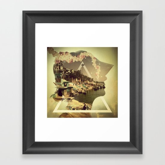 Connect The Dots Framed Art Print