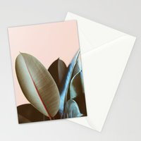 Ficus Elastica #1 Stationery Cards
