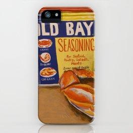 Meg's Old Bay iPhone Case